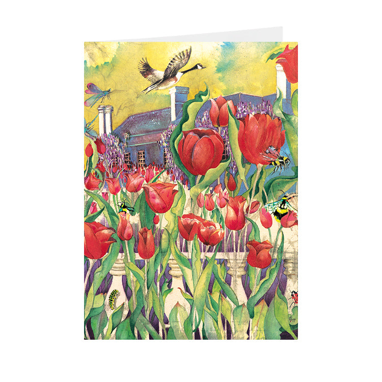 Tulips - Pashley Manor - Greeting Card - V_101