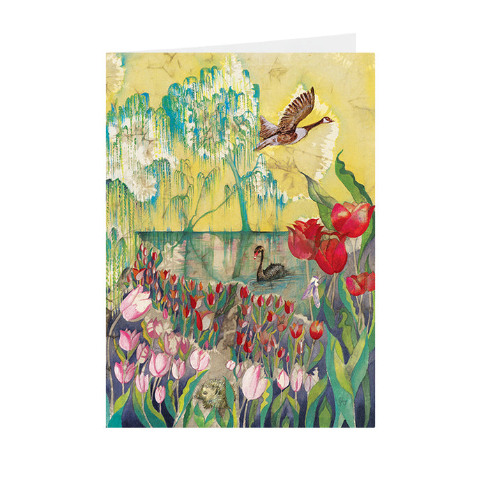 Tulips - Pashley Manor - Greeting Card - V_102