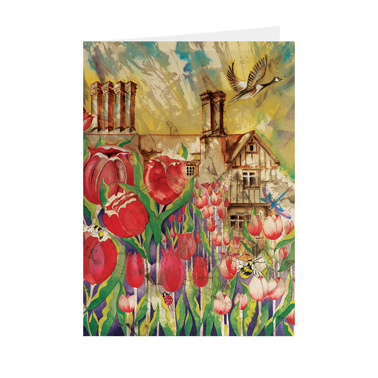 Tulips - Pashley Manor - Greeting Card - V_103