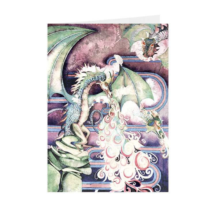 Fantasy - Dragon - Greeting Card - V_107