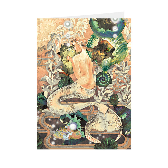 Fantasy - Mermaid - Greeting Card - V_109