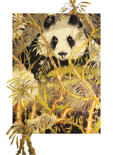 Panda Bear - Greeting Card - V_10