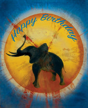 Silhouettes - Happy Birthday - Greeting Card - V_16