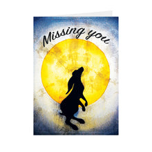 Silhouettes - Missing You - Greeting Card - V_20