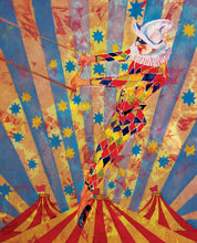 Circus Harlequin - Harlequin Design - Greeting Card - V_31