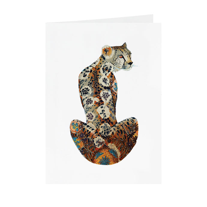 Cheetah - Greeting Card - V_40