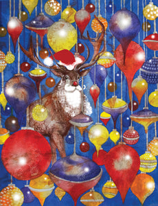 Christmas - Christmas Stag - Greeting Card - V_87