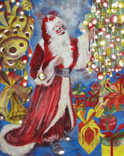 Christmas - Father Christmas - Greeting Card - V_88