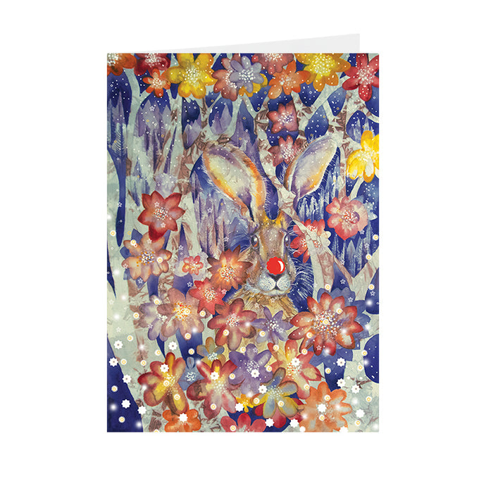Christmas - Christmas Hare - Greeting Card - V_90