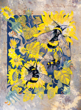 Bees in Wonderland - Busy Bees - Greeting Card - V_97