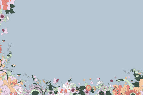 Download Sky Blue Flower Power, Our Print of the Month