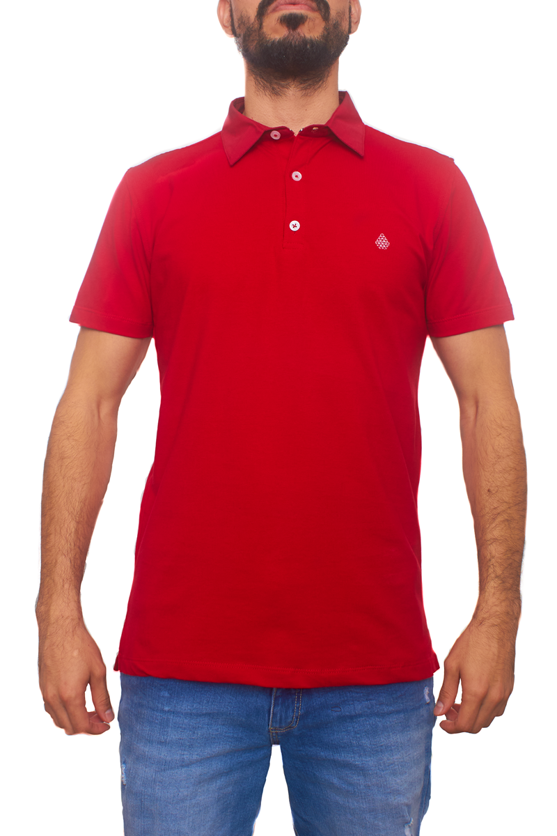 Polo De Moda Luxury Rojo