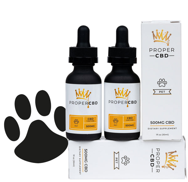 Pet CBD Tinctures - 2 Pack