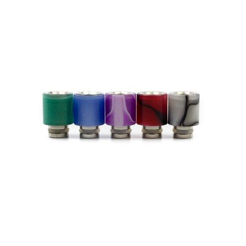 Acrylic Coated Stainless Steel Drip Tip - Zikwid