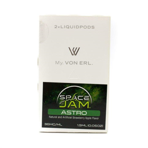 Von Erl Replacement Pods - 2 Pack 1.5ml - Space Jam Astro