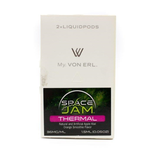 Von Erl Replacement Pods - 2 Pack 1.5ml - Space Jam Thermal