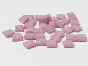 Tila Beads 5mm, Farbe 08 Opaque Antique Rose Luster - bead&more