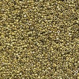 Miyuki 11/0 Round Seed Bead, Farbe Picasso Canary Yellow Matte - bead&more