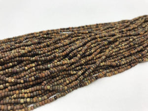 Aged Picasso Glasperlen 2 mm - Farbe Earth Mix - bead&more