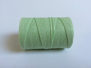 gewachstes Leinengarn / Irish Waxed Linen, Farbe 30 mint green