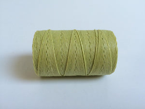 gewachstes Leinengarn / Irish Waxed Linen, Farbe 35 country yellow - bead&more
