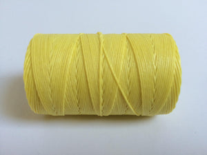 gewachstes Leinengarn / Irish Waxed Linen, Farbe 36 lemon yellow