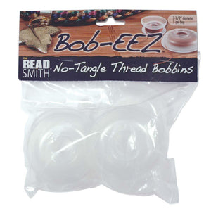 Kordel-Spulen / No-Tangle Thread Bobbins, 7 cm - 8 Stück - bead&more