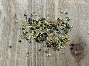 Delica Glasperlen 11/0 - Mix Earthone - bead&more