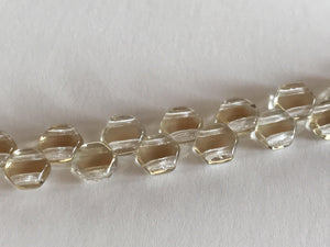 HONEYCOMB 6MM, Farbe 29 CRYSTAL CLARIT - bead&more