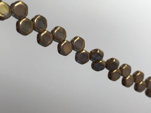 HONEYCOMB 6MM, Farbe 33 CRYSTAL BRONZE
