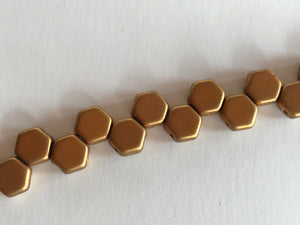 HONEYCOMB 6MM, Farbe 35 MATT MET ANTQ BRASS