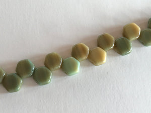 HONEYCOMB 6MM, Farbe 37 HODGE PODGE SEAFOAM - bead&more