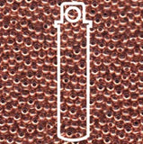 Metallperlen 11/0 - Heavy Metal Seed Beads - Copper - bead&more