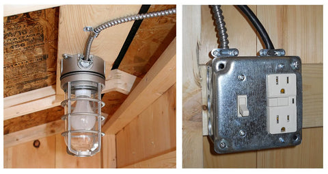 chicken coop electrical package