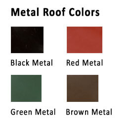 Horizon Structures Chicken Coops Metal Roof Colors