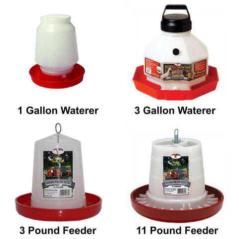 chicken coop waterers and feeders