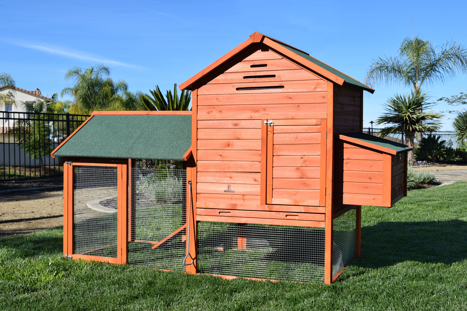 Rugged Ranch™ Raised Wood Chicken Coop