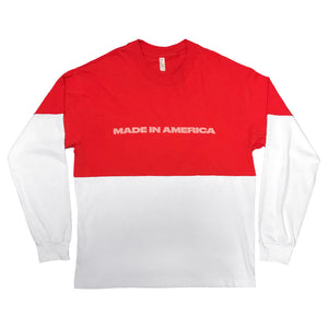 Made In America Long Sleeve Tee - Made In America Festival