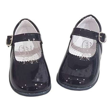 Mary-Janes in patent (various colours)