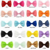 2.5 inch hairbows - various colours