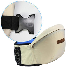 No unstrapping Baby Waist Carrier with Pockets