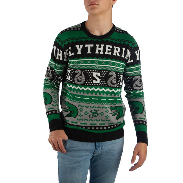 Slytherin Sweater ~ Harry Potter Sweater