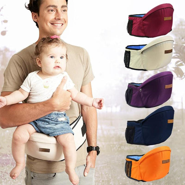 """Baby-Got-Lighter"" - Baby Waist Carrier With Pockets"