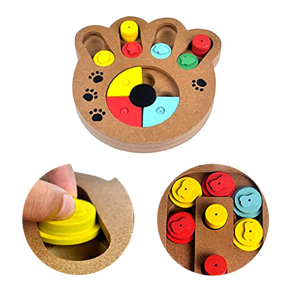 Interactive Pet Treat Puzzle Toy