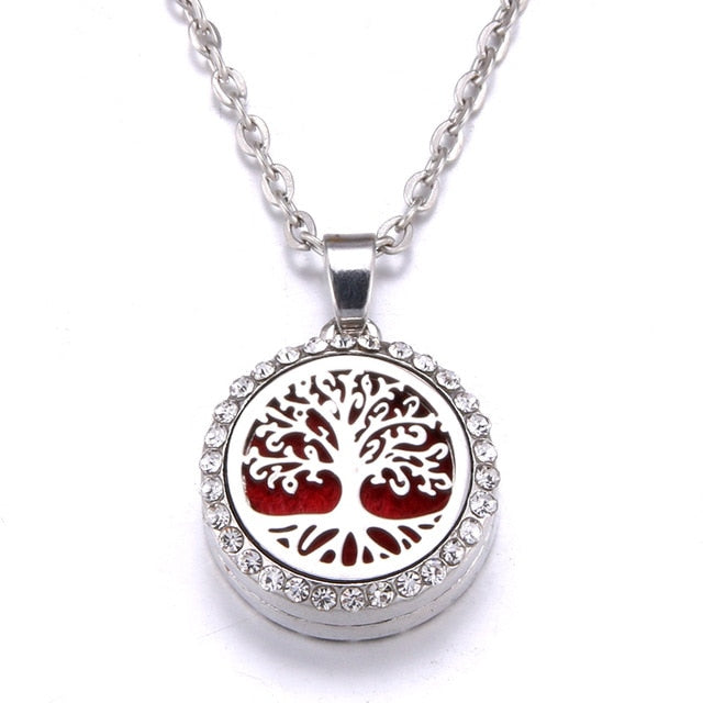 Ultimate Tree of Life Aromatherapy Necklace