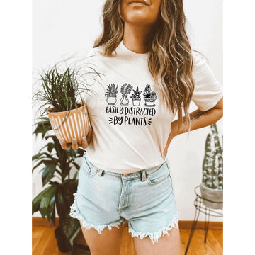Easily Distracted by Plants T-Shirt