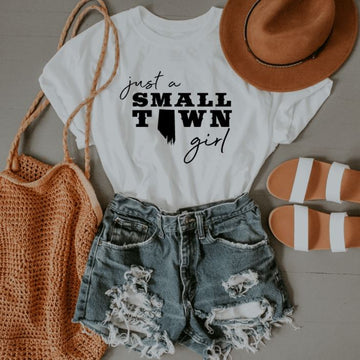 Just a Small Town Girl- Alberta T-Shirt