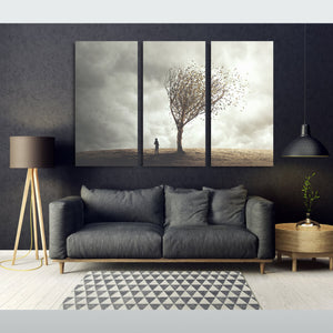 Storm Wind Tree Canvas