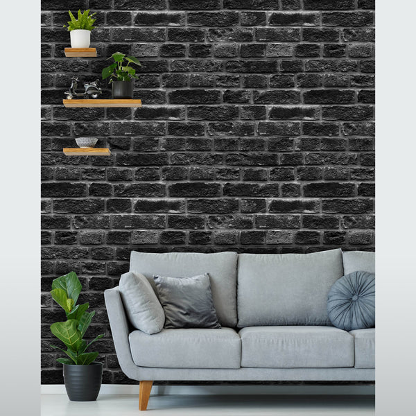 Brick Pattern Wall Removable Wallpaper