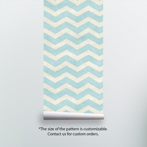 Chevron Pattern Removable Wallpaper